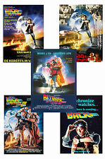 BACK TO THE FUTURE - SET OF 5 - A4 POSTER PRINTS # 1