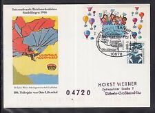 A 198) Germany speciale cartellino SST Berlino - 150. compleanno di Otto Liliental 1998
