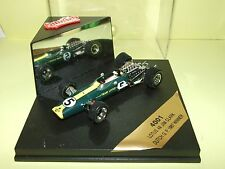 LOTUS 49 GP D'AFRIQUE 1968 G. HILL QUARTZO 4004 1:43 Arrivé 1èr World Champion