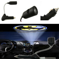 Bat Car Cigarette Lighter Roof LED Logo Projection Shadow Light Projector Lamp