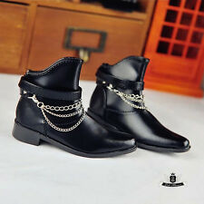Uncle size BJD Boots SD17 Dollfie MID DOD AOD SOOM EID DZ Shoes Black Shoes 0260