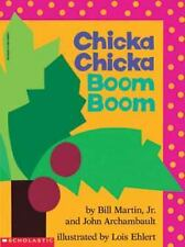 Chicka Chicka Boom Boom Preschool Learning Book Scholastic ABC