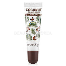 [SECRET KEY] Coconut Oil Lip Balm - Never Dry 10g / Moisturizing lip care