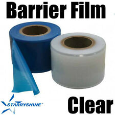 BARRIER FILM 4X6 1200 PERFORATED SHEETS 600ft DISPENSER BOX CLEAR DENTAL TATTOO