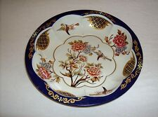 The Tin Box Company bird themed stamped printed metal serving bowl used good