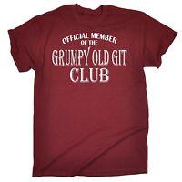 Grumpy Old Git Club ™ T Shirt slogan funny gift moody dad father grandad uncle