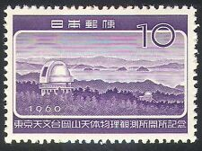 Japan 1960 Stars/Space/Astronomy/Observatory/Buildings/Science 1v  (n24631)