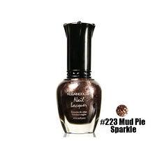 1 Kleancolor Nail Polish Lacquer #223 Mud Pie Sparkle Manicure