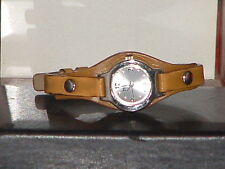 Pre-Owned Women's Mudd Brown Rivet Watch