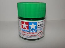 Tamiya Color Acrylic Paint Park Green #X-28 (23 ml) NEW