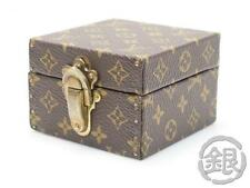 AUTH PRE-OWNED LOUIS VUITTON MONOGRAM BIJOUX MINI JEWELRY BOX MINI CASE #161729