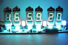 IV-11 VFD TUBE CLOCK DIY WITH REMOTE AND ALARM 6 TUBE SOLDERING KIT  USB POWERED