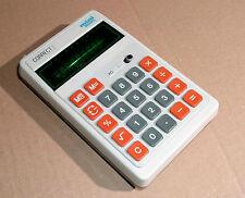 älter: Correct mini 800PL Taschenrechner - grüne Anzeige