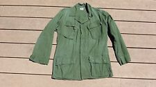 Vietnam US Army Military Jungle Jacket Fatigue 3rd Pattern Small Regular 1969