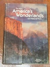 1975 AMERICA WONDERLAND NATIONAL PARK PICTORIAL REVIEW BOOK NGS CAMPING HIKING