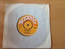 "Reggae 7"" Single - The Eternals - Keep On Dancing - Moodisc 3508 (1971) Mint"