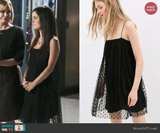 Zara Sheer Overlay Dress as seen on  Rachel Bilson on Hart of Dixie REF 1836/221