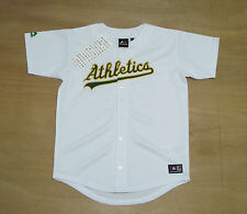 Oakland Athletics - Youth 12-13 Years Old - Majestic MLB Baseball Jersey - New