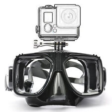 Pro Diving Glasses Scuba Mask Swim Goggles Mount For Camera Go Pro Hero 2 3 4