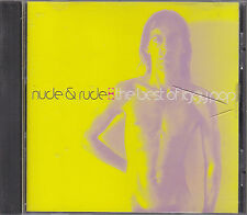 IGGY POP - nude & rude  the best of CD