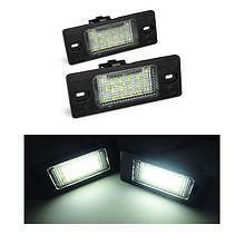 VW Volkswagen Golf MK5 5D Estate 18 SMD LED Replacement Number Plate Units 6000K