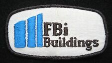 FBI BUILDING EMBROIDERED SEW ON PATCH ADVERTISING TOURIST SOUVENIR