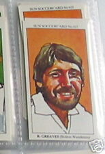 roy greaves bolton wanderers soccer Collector card #615