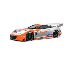 HPI Racing RC Car Toyota Supra GT Au Cerumo Body Shell Clear 200mm 7486