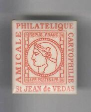 RARE PINS PIN'S .. PTT TIMBRE STAMP PHILATELIE CARTOPHILIE ST JEAN VEDAS 34 ~AR