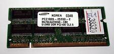 MODULO RAM SODIMM DDR SAMSUNG 512MB 200pin USATA OTTIMO STATO EL1 38320