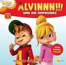 ALVINNN!!! UND DIE CHIPMUNKS - (2)TV-SERIE-GEMEINSAM SIND WIR STARK  CD NEU