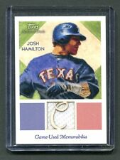 2010 Topps National Chicle #NCR-JH Josh Hamilton Rangers Game-Used jh6