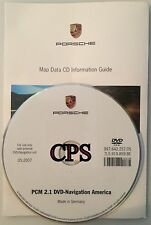 2006 2007 2008 Porsche 997 911 Carrera S 4S GT3 Turbo PCM 2.1 Navigation DVD Map