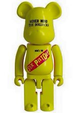 Medicom Be@rbrick 2015 Sex Pistols Chogokin 200% Yellow Metal Bearbrick 1pc