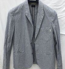 Paul Smith unlined casual blazer. Size Large seersucker gingham