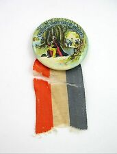 Patriotic Order Sons of America PIN with RIBBON Badge, Pinback, Button 1920's