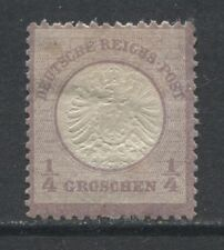1872 Germany ¼ Groschen large shield issue mint*, € 100.00
