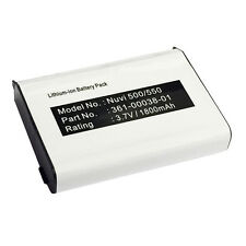 010-11143-00 361-00038-01 Battery for Garmin Aera and Nuvi 500 510 550 560 GPS