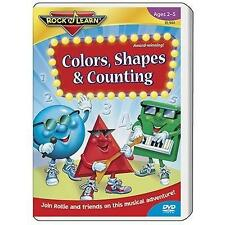 Rock 'N Learn: Colors Shapes Counting (DVD, 2006)