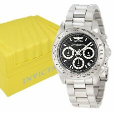 INVICTA Mens 9223 Speedway Collection Chronograph S Series Stainless Steel Watch