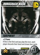 RORSCHACH MASK DC Comics Deck Building Game WATCHMEN card