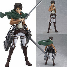 Attack On Titan Eren Yeager Shingeki no Kyojin Figma Figure Anime Action Toys