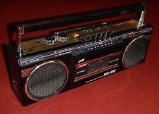 80s JVC AM/FM Radio Cassette Recorder/Player Model RC-20 Boombox Japan