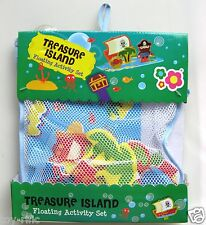 MEADOW KIDS TREASURE ISLAND FLOATING BATH TIME ACTIVITY SET - BRAND NEW!