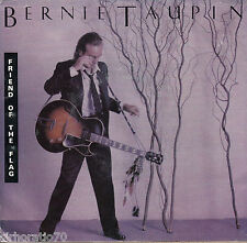 BERNIE TAUPIN Friend Of The Flag / Backbone 45  P/S PROMO - Elton John