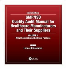 GMP/ISO Quality Audit Manual for Healthcare Manufacturers and their Suppliers, S