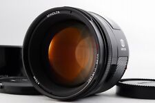 【MINT】 MINOLTA AF 85mm F/1.4 w/Hood for SONY Alpha A-Mount from japan #205