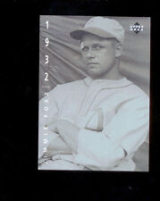 1994 UD Upper Deck JIMMIE FOXX American Epic Ken Burns Baseball Card