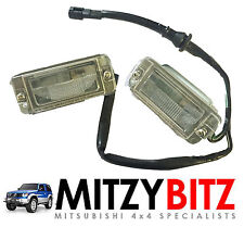 GENUINE MITSUBISHI PAJERO SHOGUN REAR NUMBER PLATE LIGHT LAMP REPLACEMENT