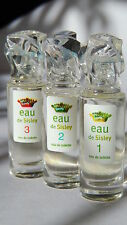 EAU de SISLEY 1/2/3 - 3 x 2 ml EDT  *** 3 PARFUM-MINIATUREN incl. OVP/BOX ***